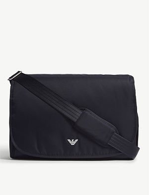 1527cb4571d5 EMPORIO ARMANI - Faux-leather baby changing bag