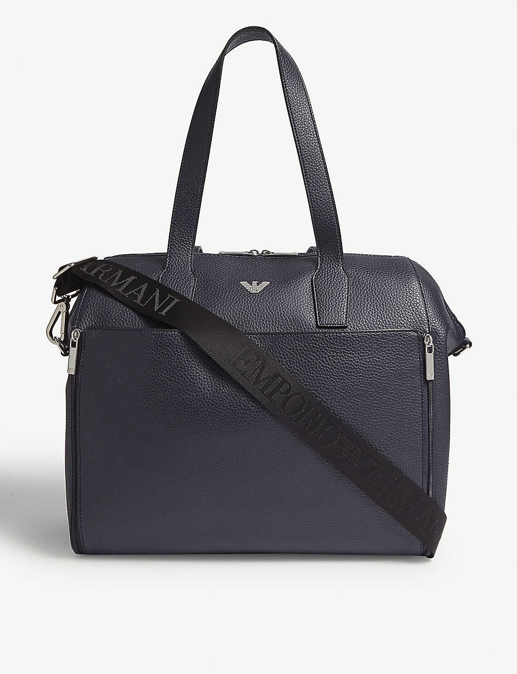 48d1c09ef9a EMPORIO ARMANI - Faux-leather baby changing bag