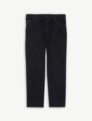 EMPORIO ARMANI Regular-fit jeans 4-16 years
