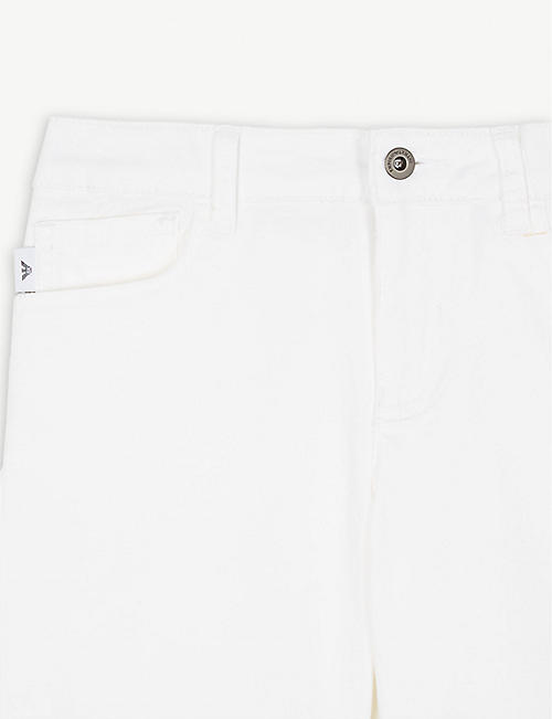 EMPORIO ARMANI Chino shorts 4-16 years