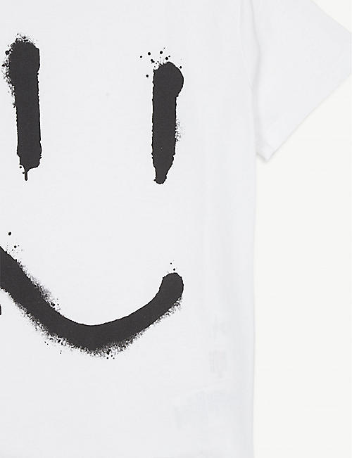 MOLO Graffiti smile cotton T-shirt 4-14 years