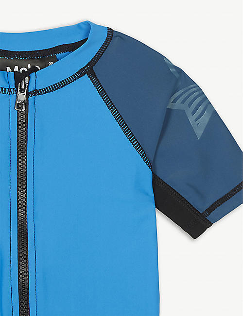 MOLO Neptune colour block rash guard 3-8 years