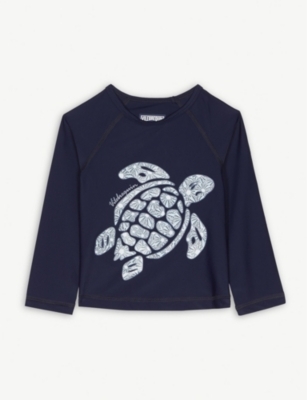 VILEBREQUIN Turtle print rash top 2-14 years