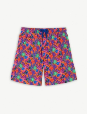 VILEBREQUIN Tropical floral print swim shorts 4-14 years
