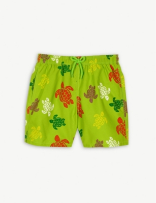 VILEBREQUIN Turtle print swim shorts 4-14 years
