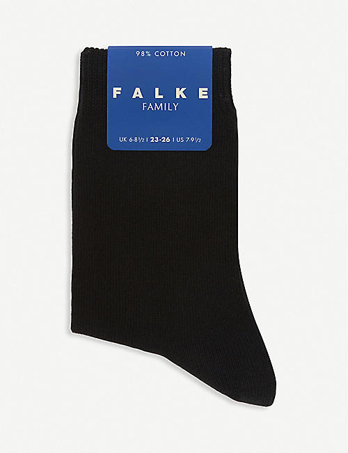 FALKE: Family cotton-blend socks