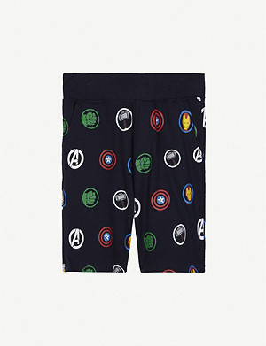 FABRIC FLAVOURS Avengers print cotton shorts 3-10 years