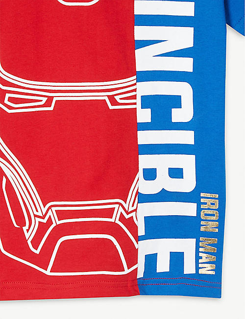 FABRIC FLAVOURS Marvel's Avengers — Iron Man cotton T-shirt 5-10 years