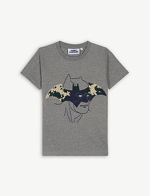 db701cc9898 FABRIC FLAVOURS Batman camouflage logo T-shirt 3-10 years