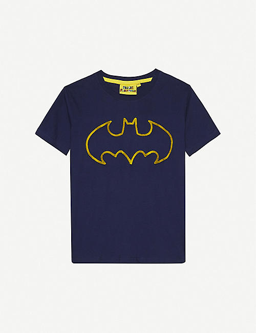 FABRIC FLAVOURS Batman 棉 T 恤 3-10 岁