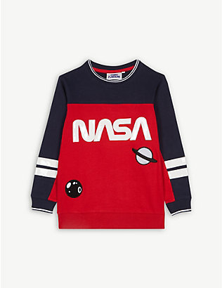 FABRIC FLAVOURS: NASA cotton jumper 3-10 years