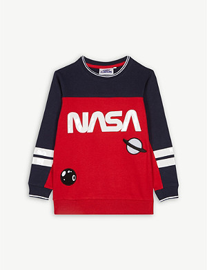 FABRIC FLAVOURS NASA cotton jumper 3-10 years