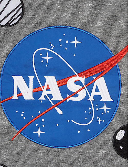 FABRIC FLAVOURS NASA patches T-shirt 3-10 years
