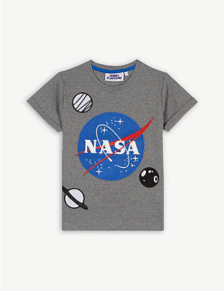 FABRIC FLAVOURS: NASA patches T-shirt 3-10 years