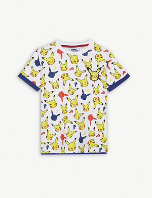 FABRIC FLAVOURS Pikachu cotton T-shirt 3-10 years