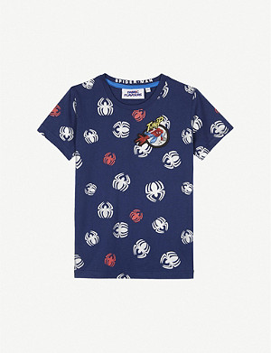 FABRIC FLAVOURS Disney Spiderman cotton T-shirt 3-8 years
