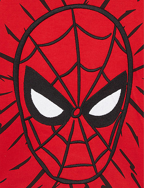 FABRIC FLAVOURS Spider-Man long-sleeved cotton T-shirt 3-8 years