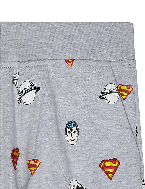 FABRIC FLAVOURS Superman cotton-blend shorts 3-10 years