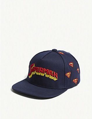 FABRIC FLAVOURS: Kids Superman retro logo cotton cap
