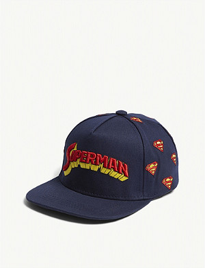 FABRIC FLAVOURS Superman retro logo cotton cap