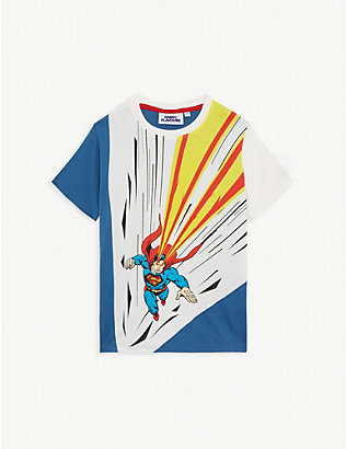 FABRIC FLAVOURS: Superman cotton T-shirt 3-8 years