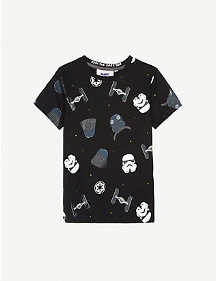 FABRIC FLAVOURS: Disney Imperial cotton T-shirt 3-8 years
