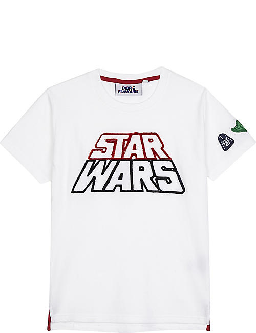 FABRIC FLAVOURS Star Wars tuft logo T-shirt 3-10 years
