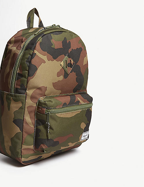 7d66ce8ed7 HERSCHEL SUPPLY CO Heritage Youth XL camouflage-print shell backpack