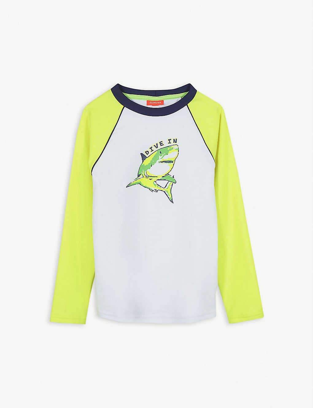 SUNUVA: Shark rash vest 3-12 years