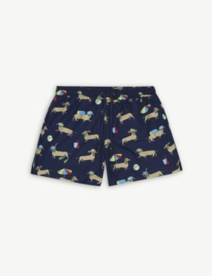 SUNUVA Sausage dog swim shorts