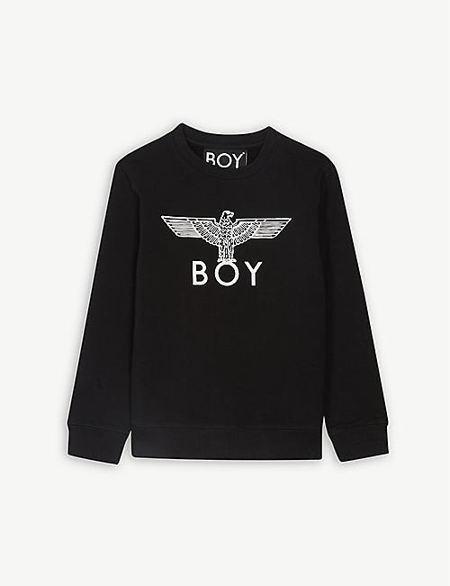 753bd89c4 BOY LONDON Eagle logo cotton sweatshirt 3-16 years