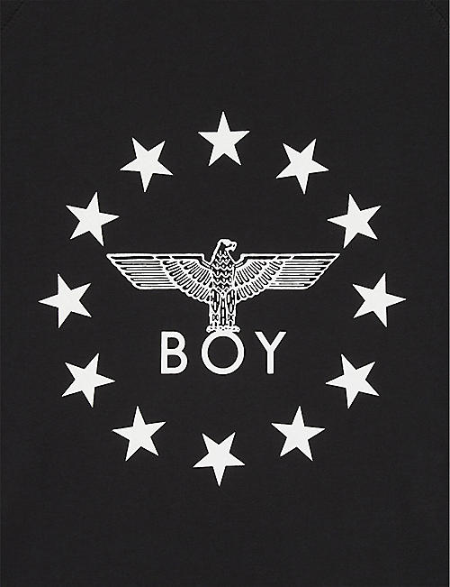 BOY LONDON Globe logo cotton T-shirt 3-16 years