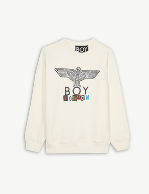 BOY LONDON Play logo cotton sweatshirt 3-16 years
