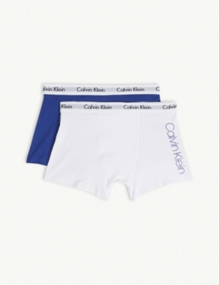 CALVIN KLEIN Modern Cotton trunk boxers set of two 8-16 years