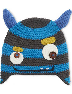 BARTS AL Monster knitted beanie hat