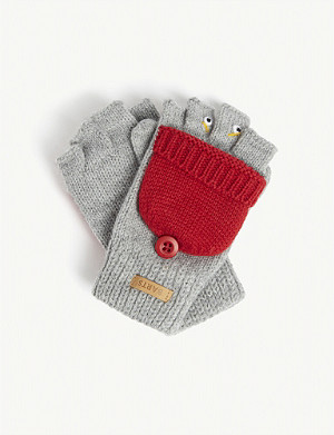 BARTS AL Emanuel knitted finger-less gloves