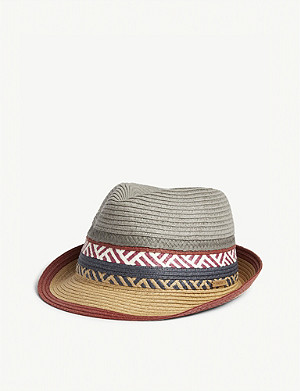 BARTS AL Cordoba patterned straw hat