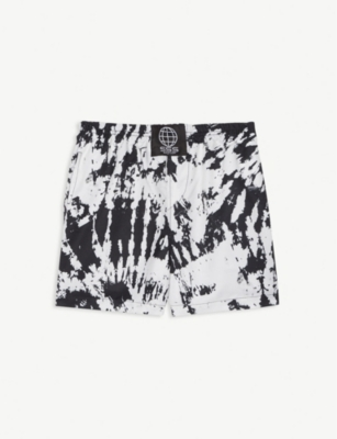 SSS WORLD CORP Tie-dye print swimshorts 4-8 years