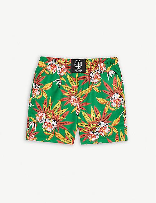 c4ce52c4cd SSS WORLD CORP Hawaiian quick-dry swim shorts 4-8 years
