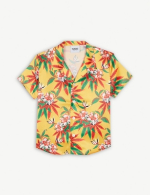 SSS WORLD CORP Hawaiian shirt 4-8 years