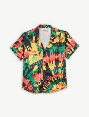 SSS WORLD CORP Printed Hawaiian shirt 4-8 years
