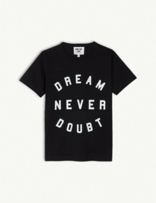 SOMETIME SOON Dream never doubt slogan cotton T-shirt 2-14 years