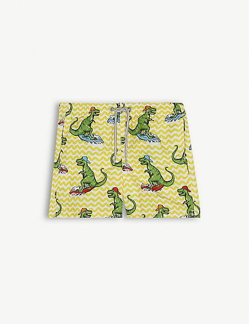 44542d020a MC2 SAINT BARTH Surfing dinosaur print swimshorts