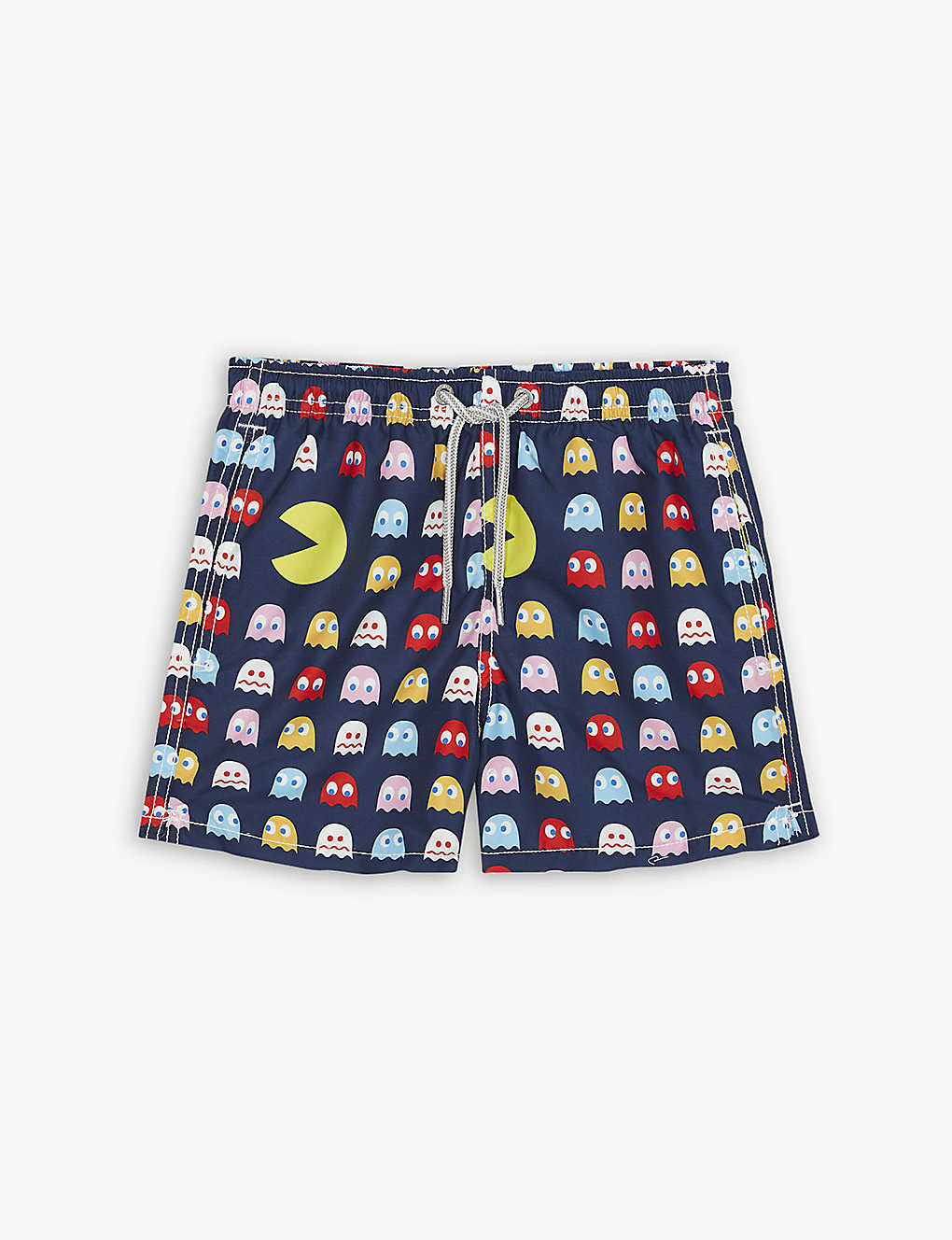 c8e9e16329 MC2 SAINT BARTH - Pac-Man drawstring swim shorts 4-16 years ...