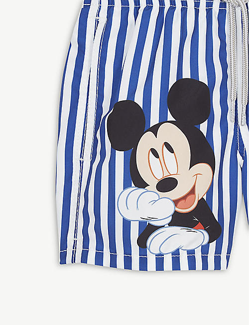 MC2 SAINT BARTH Mickey Mouse swim shorts 4-16 years