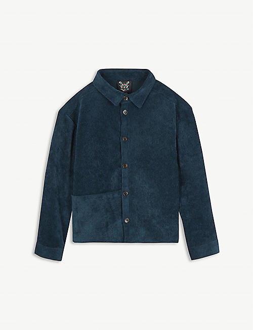 LIBERATED FOLK Corduroy shirt with pocket 2-13 years
