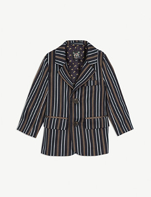 LIBERATED FOLK Striped blazer 2-16 years
