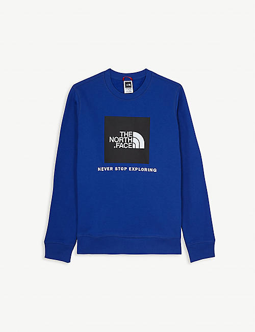 THE NORTH FACE Peak logo cotton sweatshirt