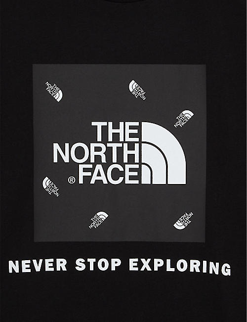 THE NORTH FACE Peak logo cotton T-shirt 6+ years
