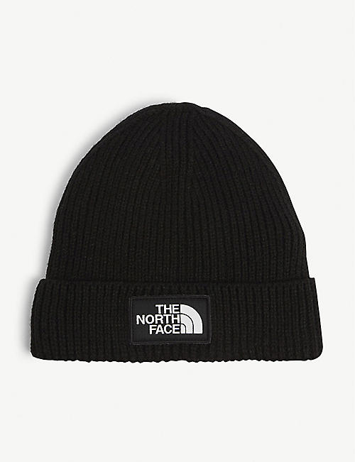THE NORTH FACE Peak logo ribbed beanie